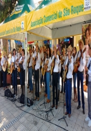 17 de Dezembro - Domingo  11h Apresentação da Orquestra de Viola Caipira da Comitiva Brasil Poeira