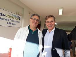 Antonio Di Girolamo - Presidente da Acia e Jornalista Carlos Mello