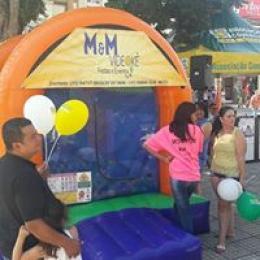Brinquedos Infláveis: Piscina de Bolinhas - Tobogã - Cama elastica