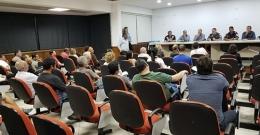 Reunião sobre Segurança -  Comerciantes, Polícia Militar  25/04/2018 Sede da Acia