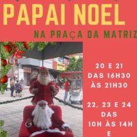 Papai Noel na Praça